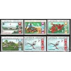 1969 Cayman Islands Mi.211x.y.212.216**219.223* Elizabet II 2.70