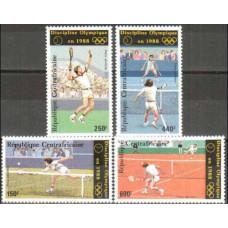 1986 Centralafrica Mi.1265-1268 1988 Olympiad Seoul 15.00 €