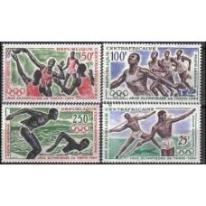 1964 Centralafrica Michel 59-62 1964 Olympiad Tokio 11.00 €