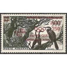 1960 Centralafrica Michel 16 1960 Olympiad Rim 8.50 €