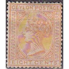 1872 Ceylon Michel 47C(*) Victoria 44.00 €