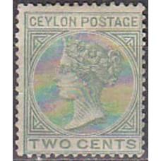 1872 Ceylon Michel 44C* Victoria 22.00 €