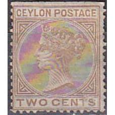 1872 Ceylon Michel 44C(*) Victoria 22.00 €