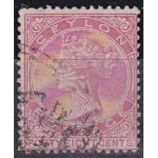 1872 Ceylon Michel 52C used 7.50 €