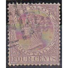 1884 Ceylon Michel 61a used 16.00 €