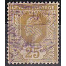 1905 Ceylon Michel 154 used 5.50 €