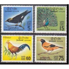 1966 Ceylon Mi.340-343 Birds of Ceylon 16,50 €