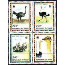 1996 Chad Mi.1370-1373 WWF 12,00 €