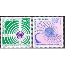 1963 Chad Mi.97-98 Globe / Orbits 4,00 €