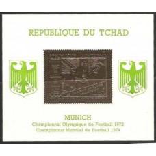 1971 Chad Mi.414/B23gold 1972 Olympics in Munich / 1974 World championship on football of Munich 36,00 €