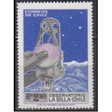 1973 Chile Mi.790 Telescope / Starry Sky