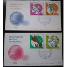 1966 Congo (Kinshasa) Üø,271-274FDC 1966 World championship on football of England 10,00