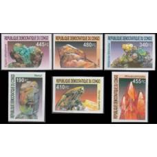 2002 Congo (Kinshasa) Mi.1713-1718b Minerals 50,00 €