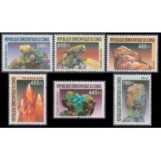 2002 Congo (Kinshasa) Mi.1713-1718 Minerals 24,00 €