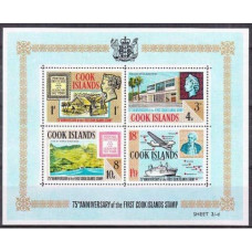 1967 Cook Islands Mi.148-151/B1 Transport 4,00 €
