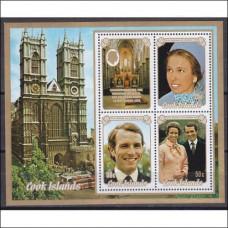 1973 Cook Islands Mi.382-84/B30 Prins William 3,00 €