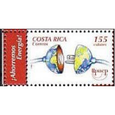 2006 Costa Rica Michel 1631Tab Energia 3.00 €