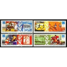 2004 Cuba Mi.4574-4577 2004 Olympic Athens 3,60 €