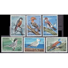 1969 Cyprus Mi.322-327 Birds of Cyprus 6,50 €