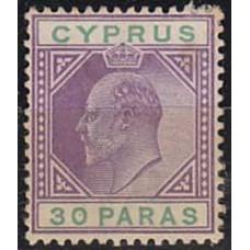 1903 Cyprus Michel 37 * Edward VII 8.50 €