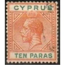 1912 Cyprus Mi.65 used George V 38.00