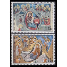 1969 Cyprus Mi.328-329 Paintings