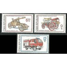 2003 Czech Republic Mi.371-373 Automobiles 2,50