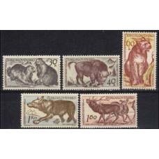 1959 Czechoslovakia Mi.1153-1157 Fauna 15,00 €