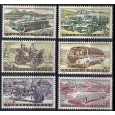 1958 Czechoslovakia Mi.1109-1114 Automobiles 11,00 €