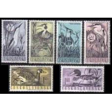 1960 Czechoslovakia Mi.1228-1233 Water birds 12,00 €