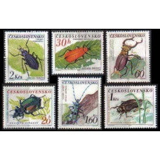 1962 Czechoslovakia Mi.1371-1376 Insects 15,00 €