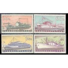 1960 Czechoslovakia Mi.1179-1182 Ships 14,00 €