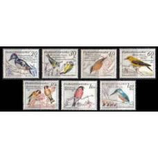 1959 Czechoslovakia Mi.1163-1169 Birds 25,00 €