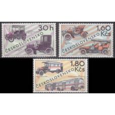 1969 Czechoslovakia Mi.1866-1868 Automobiles 3,60 €