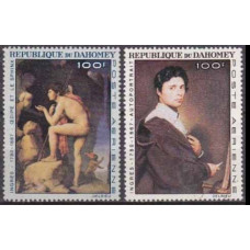 1967 Dahomey Mi.307-308 Paintings 8,00 €