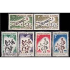 1963 Dahomey Mi.213-218 Sport 2,50 €