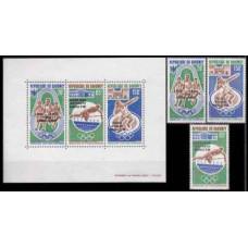 1972 Dahomey Mi.499-501+B20 1972 Olympic Munich 10,50 €