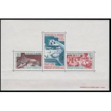 1967 Dahomey Mi.315-17/B7 Architecture 5,00 €