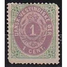 1873 Dansk-vestindiske Michel 5Ia* 100.00 €