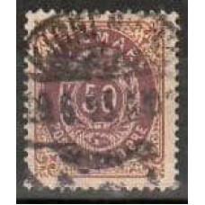 1875 Denmark Michel 30 IYAd used 32.00 €