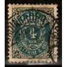 1875 Denmark Michel 23 IYAa used 10.00 €