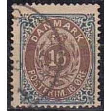 1875 Denmark Michel 27 IYAb used 6.00 €