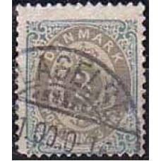 1875 Denmark Michel 22 IIYB used 7.50 €
