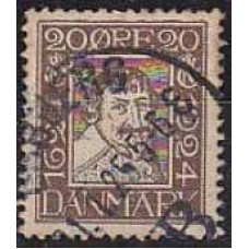 1924 Denmark Michel 139 used 4.50 €