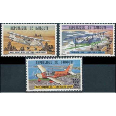 1978 Djibouti Mi.209-211 Planes 8,00 €