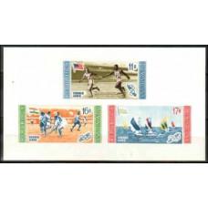 1958 Dominican Republic Mi.665-667/B19b 1956 Olympiad Melbourne 3.20 €