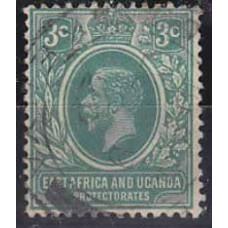1921 EastaAfrica - Uganda Mi.61 used George V 11.00 €