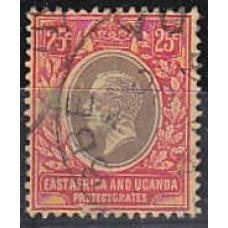 1921 EastaAfrica - Uganda Michel 48z used 7.00 €
