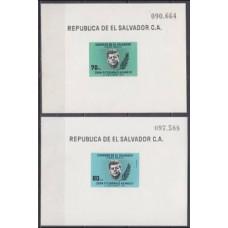 1964 El Salvador Mi.885/B22+886/B23b John F. Kennedy 4,00 €