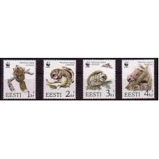 1994 Estonia Mi.229-232 WWF 2,00 €